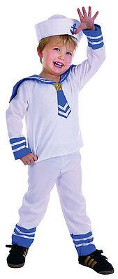 Kleinkinder Matrose Kostüm Jungen Mädchen Matrose Anzug Outfit Neu 2-3 Jahre