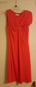 NWOT Calvin Klein Sleeveless Red Dress......Size 2