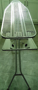 Iron Board with height adjustment & iron holder - Looks new!
