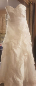Wedding dress   New...never worn