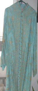 Silk and Gold Embroidered Tunic