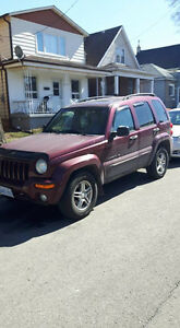 2002 Jeep Liberty , Crossover