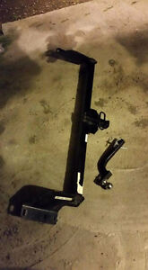 Trailer hitch for dodge caravan