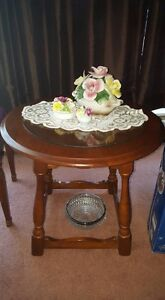 Antique Cherry End Table