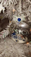 Gorgeous glass Ornaments Personalized/Customized
