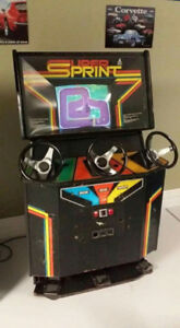 super sprint arcade game