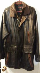 A VENDRE manteau de cuir pour homme