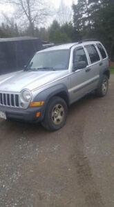 2007 Jeep Liberty sport 4x4