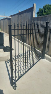 Wrought Iron Metal Solid Fence Panels, Railings, Gates London Ontario image 7