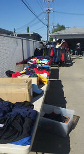 Garage Sale Featuring Brand New Sportswear, Jackets, & Workwear
