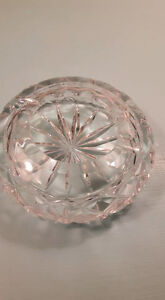 Crystal antique ashtray