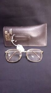 Vintage Men's Glasses With Case