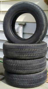 4 Toyo summer tires P195/70 R14
