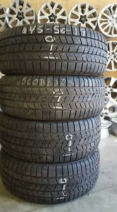 "245/50/19 pneus hiver usagés 19"" Pirelli Scorpion Ice And Snow"