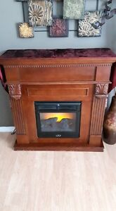 Electric Fireplace.  Works Great!