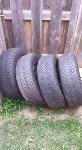 Set of Honda Civic Tires and Rims