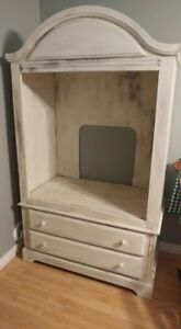 Hand Painted TV Stand