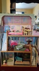 3 story barely used doll house