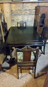 Antique dining room set sell separately