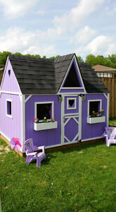 KIDS CUSTOM BUILT COTTAGE / PLAYHOUSES