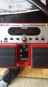 BOSS VE 20 Vocal Processor