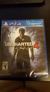 Uncharted 4 A Thief's End Brand New Playstation 4