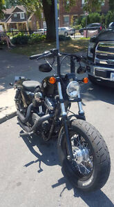 Harley davidson 48 custom black on black