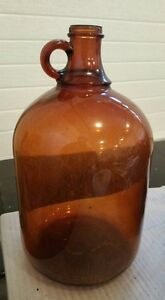 Antique Brown (amber) Jug --
