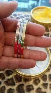 Trio bracelets Cartier et bagues INOXYDABLE