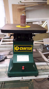Vertical Oscillating Spindle Sander