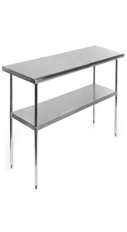 NEW STAINLESS STEEL TABLE FT FT FT FOOD TABLE Business - 6 ft stainless steel table
