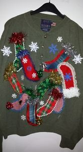 TACKY and UGLY CHRISTMAS SWEATERS