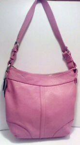 DANIER: Pink Leather Purse/  tote