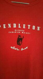 New -- Red  T- shirt --Junior Med. Size --  Yorkton, SK