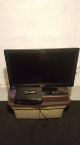 TV with HDMI port and Bluray DVD player