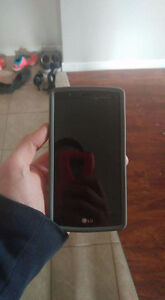 Lg4 with otter box and leather back