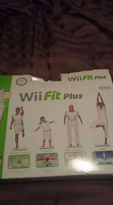Almost new wii fit plus -Summerland