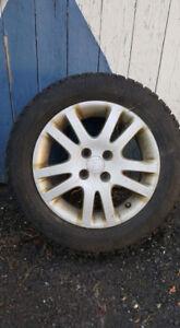 Mags civic et pneu dhiver 195 60 r15