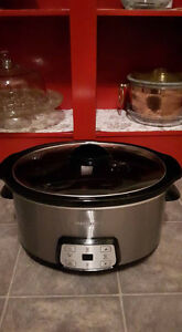 Black & Decker 7 Qt Digital Slow Cooker -  REDUCED!