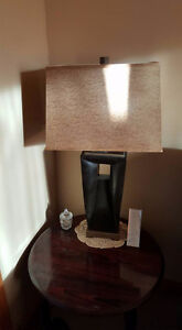 Free Standing Lamp and End Table Lamps $50 each
