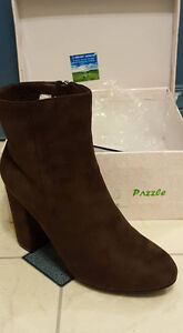 Brown boots -- never worn