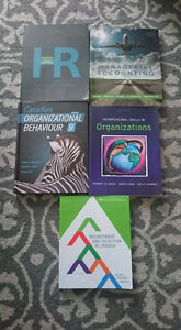 First Year Human Resources Textbooks Cambridge Kitchener Area image 1