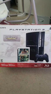 Play station 3 good price 2 controls 7 games and 160 gb