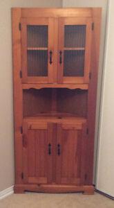 Decorative corner cabinet $85.00