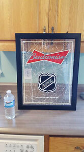NHL Budweiser Sign