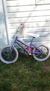 """16"""" Purple Disney Princess Bicycle"""