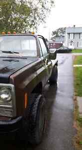 1979 Chevrolet k20 project truck