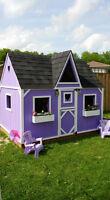 Custom made kids playhouses