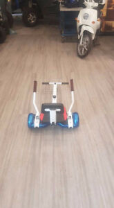 Hoverboard cart $99.00 OR with board $378.00. Limited stock