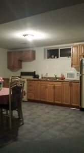 Complete basement for rent